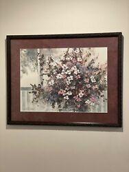 """Art Estate- Limited Edition """"welcome Home"""" By Artist Diane Anderson W Coa"""