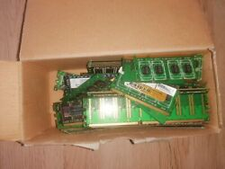 1000 Gram Computer Ram Memory For Gold Recovery Scrap With Fingers