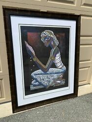 From Mike Tyson's Former Estate Rene Dickerson Signed Ltd Giclee Pearls 10/25
