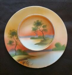 Vintage Antique Noritake Serving Dish Hand Painted Retro Kitchen Collectable
