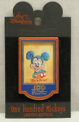 Disney 100 One Hundred Mickey's Limited Edition 22 Pin Eric Robison