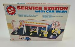 Vintage Shell Service Station With Car Wash 1988 Scientific Toys New Old Stock