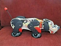 Vintage Fisher Price Snoopy Dog Toy 6588 From 1990 Limited Edition Of 3,500