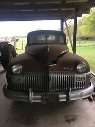 1948 Desoto Rare Coupe Good Condition For Restoration Not Running Extra Parts