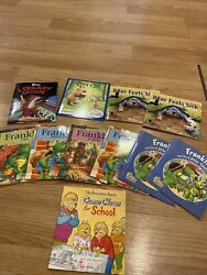 Lot Of 11 Chick-fil-a Franklin,berenstein, Library Mouse Bear Feels Sick Books