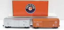 Lionel Trains 6-27283 Postwar Scale Boxcar 2-pack Western Pacific Great Northern