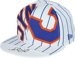 Noah Syndergaard Ny Mets Signed Authentic Jersey Snapback Hat - Le 2 - Fanatics