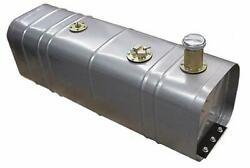 Tanks Inc. Universal Fuel Tank With 3 Threaded Neck And Billet Cap U3-g