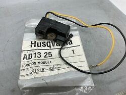 Husqvarna Brand New Oem Ignition Coil Pn 501 51 62-02 - For Chainsaw
