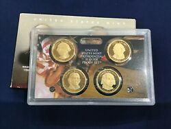 2007-s Presidential Dcam Proof Dollar 4 Coin Set W. Box And Coa Lot Of 25 Sets