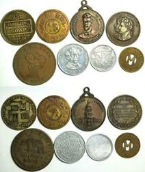 1900and039s California Collection Award Token Coin Medal Olympic Club Soap Ferry Bear