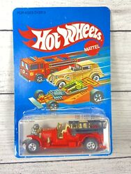 1983 Hot Wheels - Old Number 5 Fire Truck - Diecast 1695 Unpunched