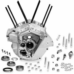 Sandamps Cycle Black Standard Bore Super Stock Engine Case For 92-99 Harley