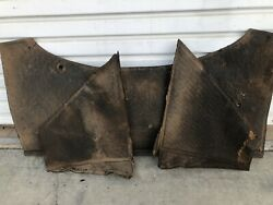 Oem Vw 1961 Beetle Engine Compartment Pannels Tar Board Insulation