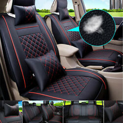 Luxury Car Infant Seat Cover Set Leather Cushion 5-sit Universal Car Accessories