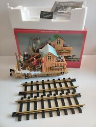Dillards Trimmings Log Mill Car Train Piece With 2 Track