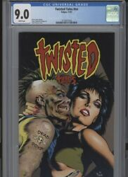 Twisted Tales Hi Grade 9.0 Cgc Jones Stories White Pages Stevens Cover Stasi Art