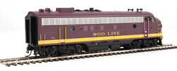 Walthers 920-42521 Ho Soo Line Fp7 F7b Diesel Locomotive With Dcc 2501ac