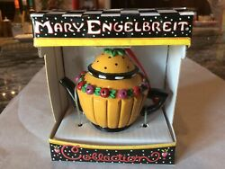 Mary Engelbreit Miniature Teapot 1 From Collection W/ Fruit New In Box