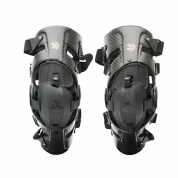 Asterisk Carbon Cell 1 Knee Brace Pair Small Carbon