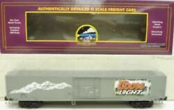 ✅mth Premier Coors Light Beer 60andrsquo Reefer Car 20-94128 O Scale Freight Train Box