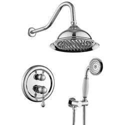 8 Inches Concealed Shower System-2 Mode Filtering Shower Head-easy Installation