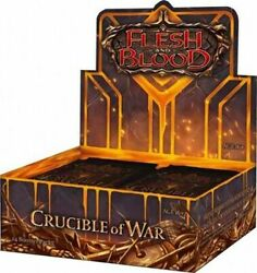 Crucible Of War Booster Box Of 24 Packs Flesh And Blood Sealed Flesh And 5cp