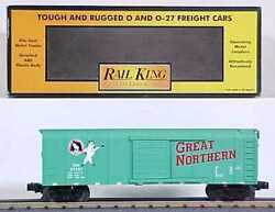 Mth 30-7419 Great Northern Rounded Roof Boxcar 27751 Ln/box