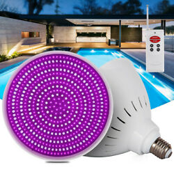 Top Led Pool Light 12v/40w Rgb Color Changing For Pentair Hayward In Ground E27