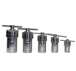 Lab Hydrothermal Synthesis Reactor Stainless Steel Autoclav Reactor Ptfe Chamber