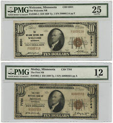 The Most Friendly And Unfriendly Notes From Minnesota 1929 10 National Banknotes