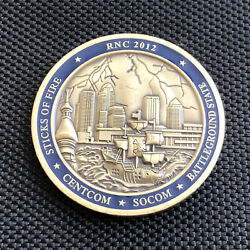 Us Secret Service Tampa Bay Field Office Rnc 2012 Challenge Coin