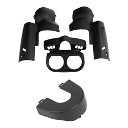 Matte Instrument Housing Ignition Switch Panel Trim Fit For Road Glide 15-21 19