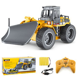 Remote Control Truck Snow Plow 6 Ch 2.4g Alloy Snow Sweeper Vehicle Tractor Toy