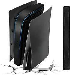 For Ps5 Plates With Black Console Middle Skin Shockproof Ps5 Faceplates Ps5 Side
