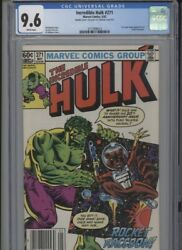 Incredible Hulk 271 Nm 9.6 Cgc Double Cover Rare Newstand Edition 1st Comic Ro