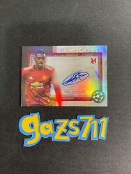 Axel Tuanzebe 2020 Topps Museum Collection Uefa Archival Auto - 12/25