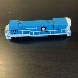 """Vintage Bachmann Train Set """"the Rock"""" Engine Including Track And Transformer"""