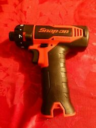 -new- Snap-on 14.4v Micro-lithium Cordless Brushless 1/4 Hex Screwdriver Cts825