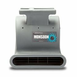 Soleaire Super Monsoon Sa-sm-1hp-gy Air Mover Blower Fan Carpet Dryers For Profe