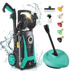 2000psi Pressure Washer 2.1gpm Portable Electric High Power Washer Machine 1800w
