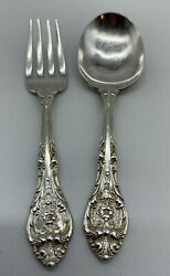 Gorham King Edward Sterling Silver Baby Spoon And Fork Set