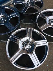 07-11 Mercedes Benz S550 S600 S65 Amg 19 Factory Oem Wheels Rims Set Staggered