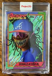 Topps Project70andreg Card 34 - 1990 Ronald Acuna Jr By Alex Pardee - Pr /14825