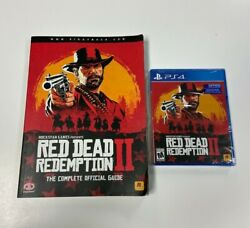 Red Dead Redemption 2 Ps4 Sealed With Piggyback Game Guide
