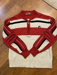 vintage made in italy fila sweater 40