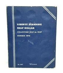 Whitman Liberty Standing Half Dollar Collection 1937 To 1947 No. 9027 Empty