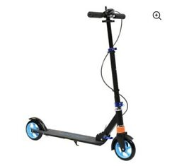 Ktaxon Height Adjustable Folding Scooter For Adult Teens Blue For Boy Girl
