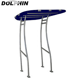 Dolphin Pro Plus Boat T Top Navy Blue Canopy -fit Small To Medium Size Boat