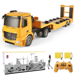 Remote Control Engineer Car Truck Rc Construction Vehicles Tractor Excavator Toy